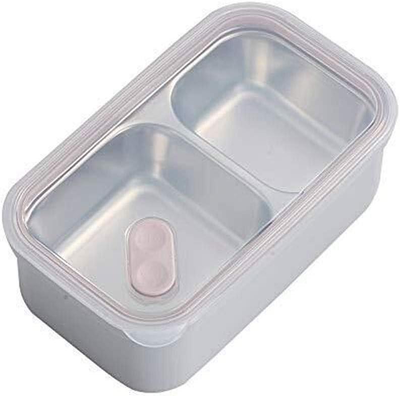 Wangchngqingfh Tartera, Box Lunch Adultos, a Prueba de Fugas on-Go-Fiambrera, Transpirable Válvulas, Inyección de Agua de Aislamiento, chapas de Acero Inoxidable de Grado alimenticio y PP Material de