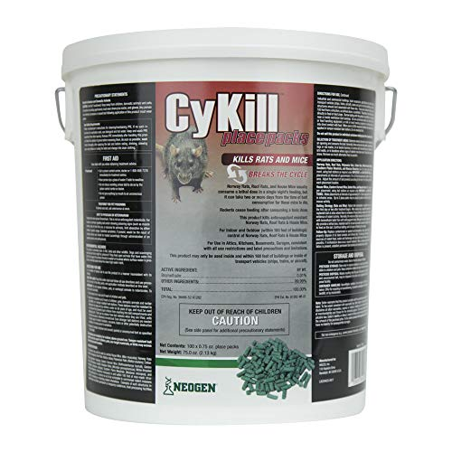 Cykill Place Pack 100 Count Pail, 6.5 lb