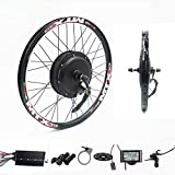 72V 2000W Rear Wheel Motor, 2000W Electric Bike Kit,Electric Bicycle Conversion Kit with Mutifunction SW900 Display,72V 40A Controller, with 7 Speed flywheel (27.5inch)