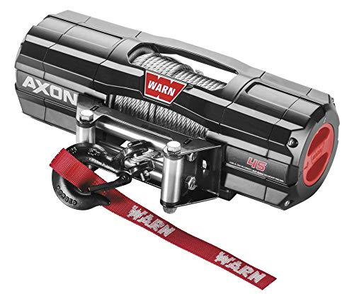 Review Of New Warn Axon 4500 lb Winch With Model Specific Mounting Hardware - 2009-2013 Kawasaki Mul...