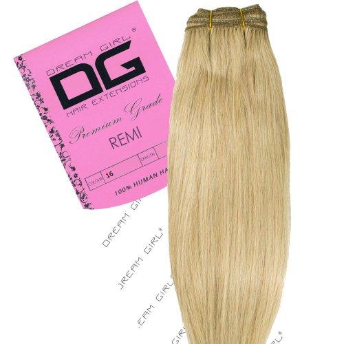 Dream Girl Extensions de cheveux Remy Couleur 16 35 cm