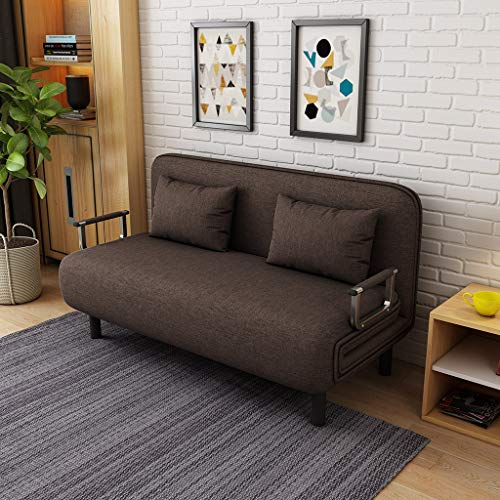 Convertible Sofa Bed Folding Sleeper Sofa, Full Size Bed Frame Recliner Lounge Sofa Couch 4-in-1 Multi-Function Sofa Chair for Living Room/Bedroom/Small Apartment【US Fast Shipment】 (75x47x14.2'')