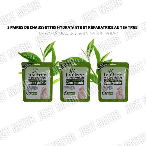 Tee Tree, 3 x thee en pepermunt, intensieve treatement, fotopack, deep moisturising