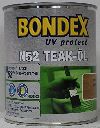 Bondex N52 UV protect Öl Teaköl 2,50 Liter teak