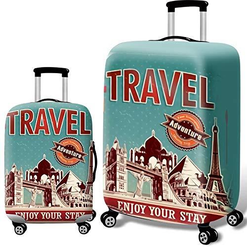 AHJSN Verdicken Koffer Schutz Abdeckungen Für 8-32 inch Koffer Koffer Reisetasche Trolley Elastische Gepäck Abdeckung L 3