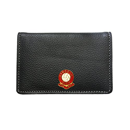 Lincoln City Football Club Leather Card Holder Wallet