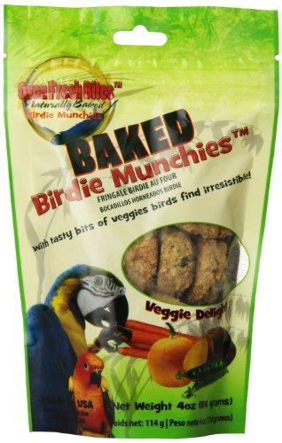 Caitec 4oz Baked Birdie Munchies Veggie Delight