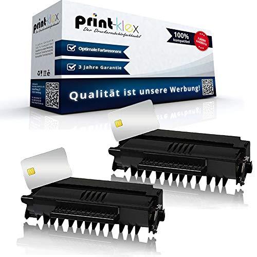 Office Print Serie - 2 cartuchos de tóner compatibles con Philips MFD 6000 Series MFD 6020 MFD 6020 W MFD 6050 MFD 6050 W MFD 6080 PFA-822 PFA822 253109266 PFA 82 negro