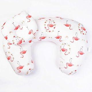 Breastfeeding Pillow Positioner Multi-Functional Breathable Baby Nursing Support Cushion Pregnancy Back U Shape Feeding Pillow Cotton Slip Newborn for Lying Or Sitting Feeding Pillow Baby