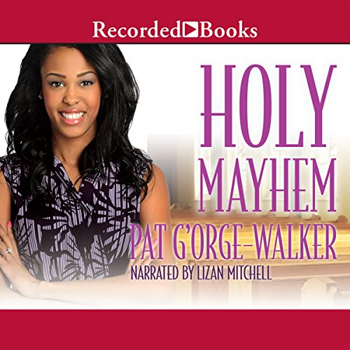 Holy Mayhem audiobook cover art