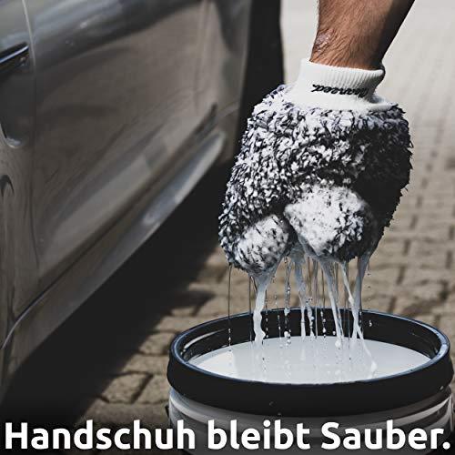 Cleaneed Premium Dirt Guard – Verhindert Kratzer im Lack, Trennt Schmutz vom sauberen Wasser – Auto Wascheimer Einsatz – Autowäsche Eimer Sieb & Gitter