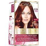 L'Oréal Paris Excellence Creme Coloration, 6.54 - Mahagoni-Kupfer (1 x 1 Stück)