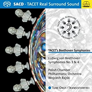 TACET's Beethoven Symphonies: Symphonies No. 3 & 4 by Polish Chamber Philharmonic Orchestra (2010-05-04)