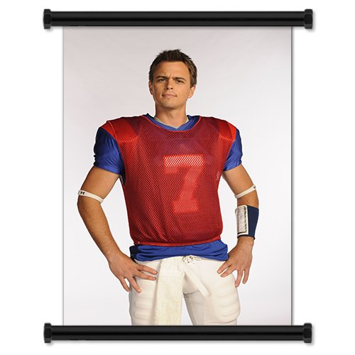 Blue Mountain State TV Show Season 1 Fabric Wall Scroll Poster (16' X 24') Inches