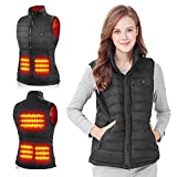 Heated USB Electric Puffer Vest Heating Jacket...