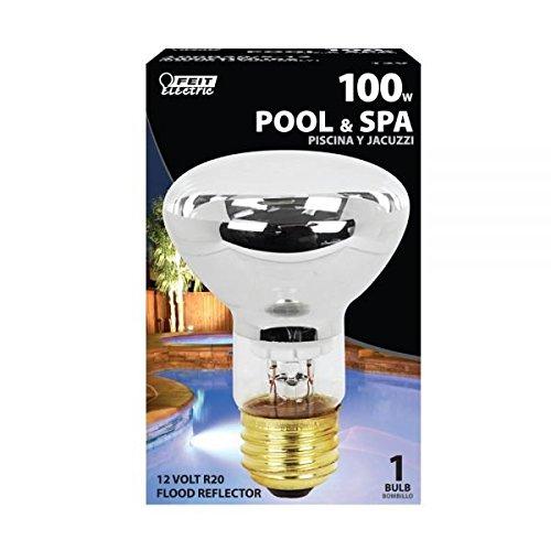 Feit Electric 100R20/S-12 100 Watt 12 Volt Pool/Spa Short Flood Reflector