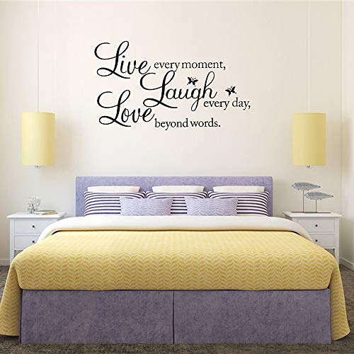KNLWGXESC Wall Sticker Wall Decor Stickers for Living Room / Bedroom Wall Decals for Home Wall Decorations Wall Art Stickers Mirror Wall Stickers Wall Quote Decal Sticker Art Decor for Family