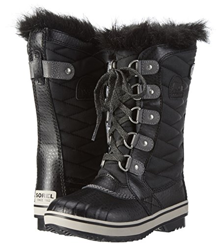 SOREL – Youth Tofino II Winter Snow Boots with Faux Fur Cuff for Kids