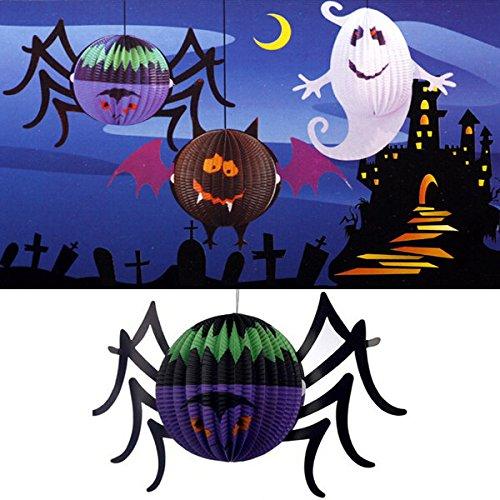Bazaar Halloween-lantaarn met LED-kaars