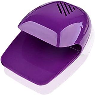 Lámpara de uñas uñas Mini Fan Art Secadora pequeño ventilador de secado de la máquina de barniz Gel portátil de casa polaca Aparato de curado de máquinas No se Mano Negro del secador del clavo (Color: