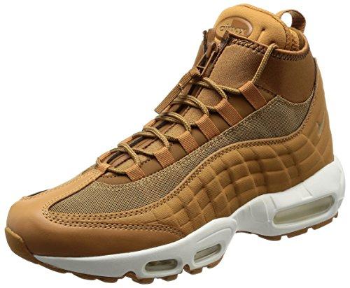 Nike Men's Air Max 95 Low-Top Sneakers, Brown (Hellbraun Hellbraun), 7 UK