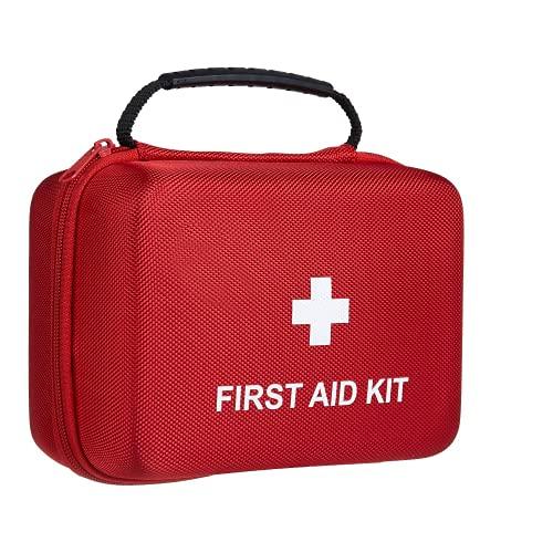 230-delige EHBO-kit – TENQUAN Nooduitrusting, reddingstas met noodfolie deken geschikt voor thuis, auto, kantoor…