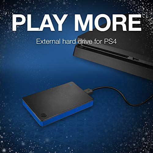 Seagate 2TB Game Drive for PlayStation 4 Portable External USB Hard Drive