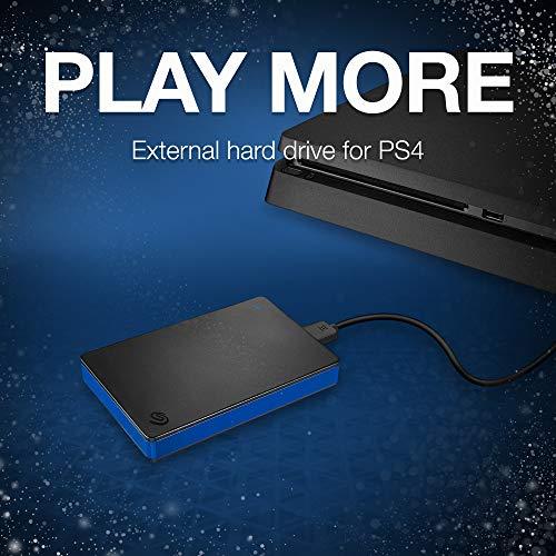 Seagate 2TB Disco Duro USB Externo portátil de Disco Juego para Playstation 4(stgd2000400) 2 TB miniatura
