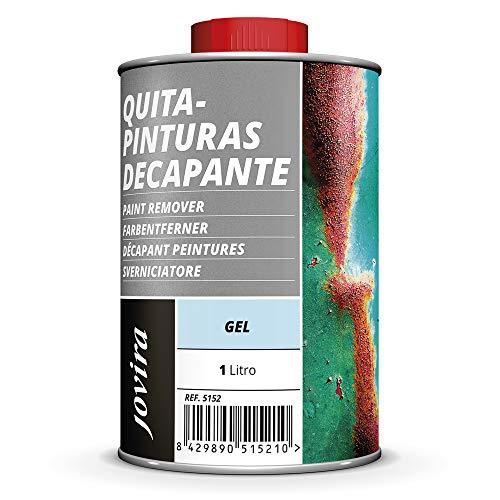 QUITAPINTURAS, DECAPANTE, Para la eliminación de viejas capas de pinturas (1 L, GEL)