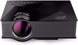 جهاز عرض سينمائي صغير محمول لاسلكي بتقنية عرض ليد اتش دي / عالية الوضوح مع شريحة [dpl] للمعالجة الرقمية للضوء من يونيك - UC46