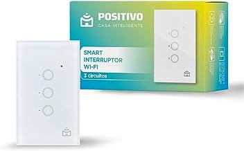 Smart Interruptor Wi-Fi Positivo Casa Inteligente, 10A, 2.4 GHz, 2.000W Bivolt – Compatível com Alexa
