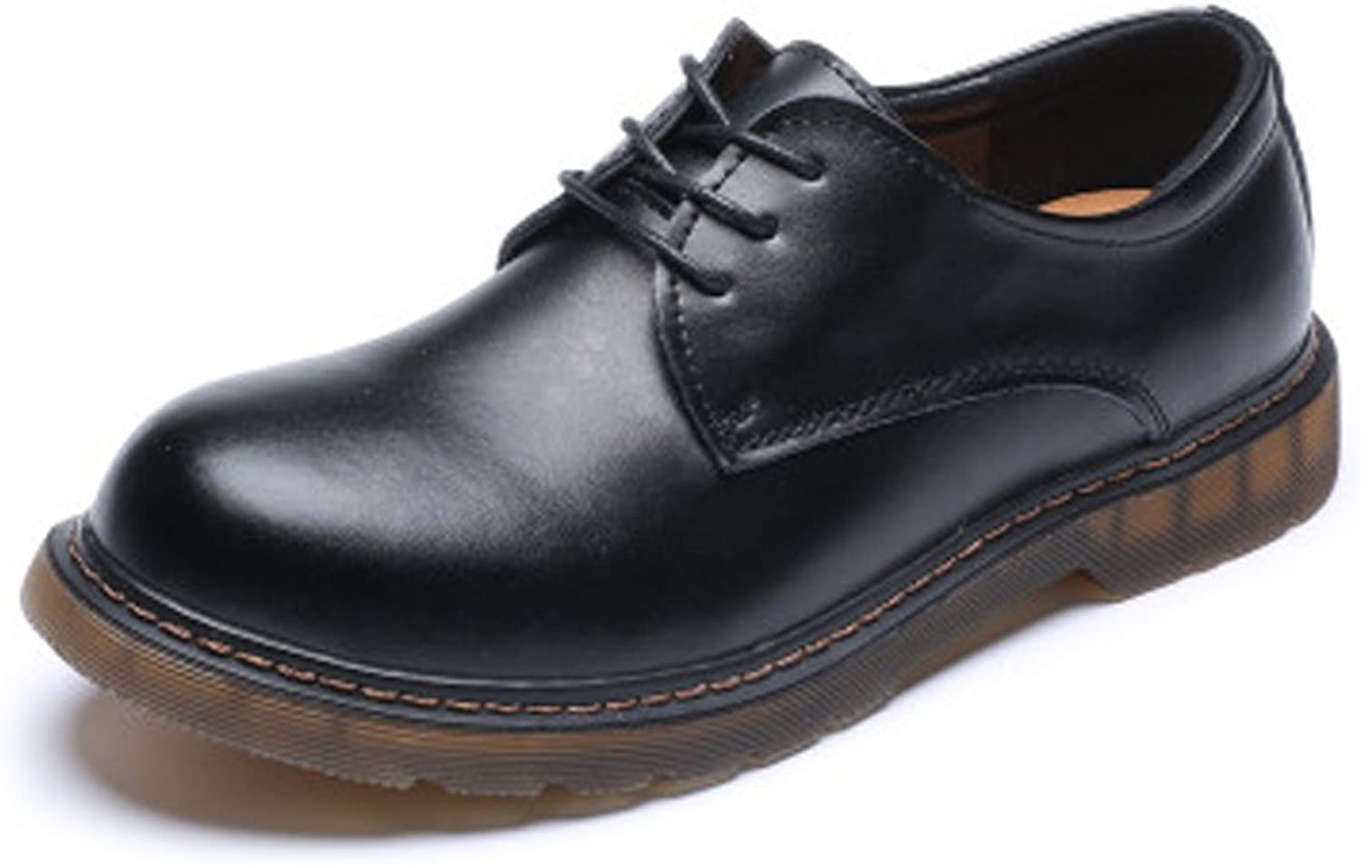 SRY-shoes for Gentlemen Smooth Genuine Leather Outsole Low Top Ankle Boot