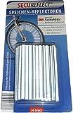 36 stk SecuReflect Speichen-Reflektopren 3M Scotchlight Speichenreflektor Speichensticks