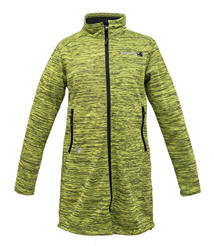 Deproc Active Dames vest gebreide fleece mantel Elmsdale Long