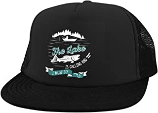 The Lake is Calling Cap, I Love Fishing District Trucker Hat
