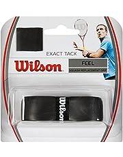 Wilson Exact Tack Grip Empuñaduras de Squash y Repuesto, Blanco, Unisex Adulto
