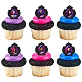24 Descendants 3 So Not Ordinary Cupcake Rings Toppers