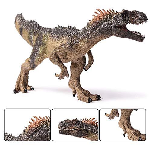 Figura de acción de dinosaurio Allosaurus de 10 pulgadas, juguete animal prehistórico jurásico para niños