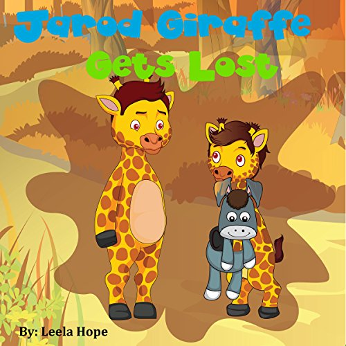 Jarod Giraffe Gets Lost  By  cover art