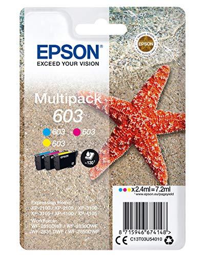 Epson Encre 603 3CL MULTI ALARME Noir L
