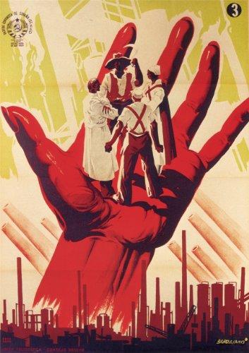 Guerra Civil Española Vintage 1936-39 Propaganda el español partido Comunista 250gsm ART Tarjeta de brillante A3 de póster
