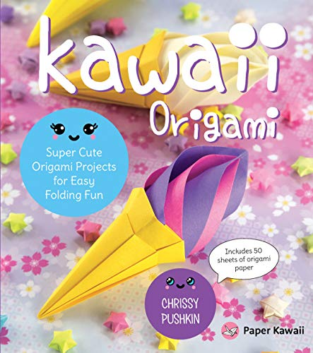 Kawaii Origami: Super Cute Origami Projects for Easy Folding Fun (English Edition)