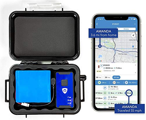 Brickhouse Security 140-Day LTE Magnetic GPS Tracker Cellular Real-GPS Tracking Device with Magnetic Case & Extended Battery for Tracking Vehicles Truck Kids Teens Elderly. Subscription Required!