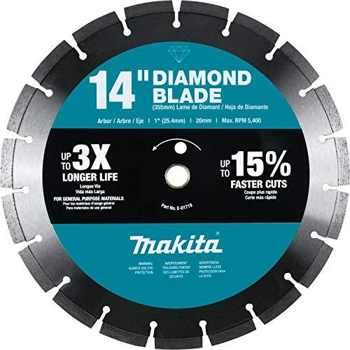 Makita E-01719 14' Diamond Blade, Segmented, General Purpose