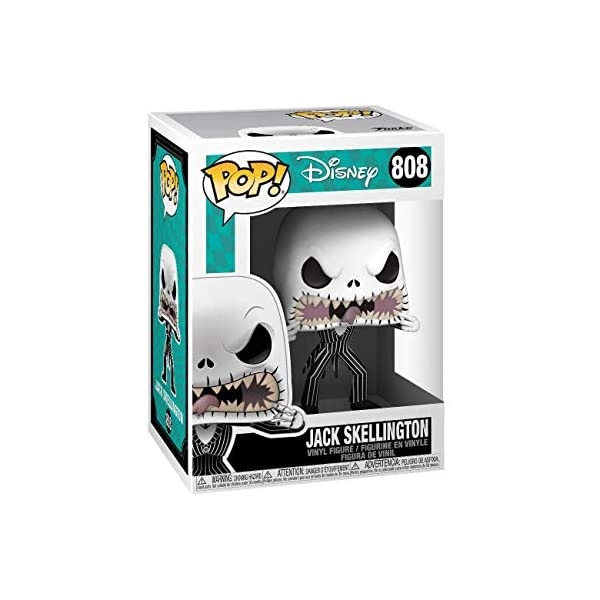Funko- Pop Disney: The Nightmare Before Christmas-Jack (Scary Face) Figura Coleccionable, Multicolor (48182) 4