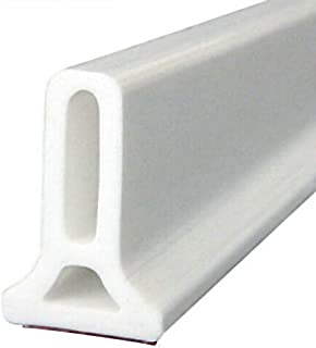 Apostasi Flexible Silicone Water Stopper Strips, Shower Barrier and Retention System and Keeps Water Inside Threshold Door...