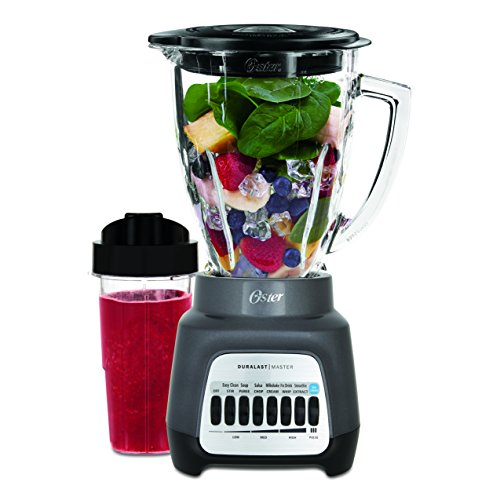 Oster 7-Speed Blender with Glass Jar - Gray
