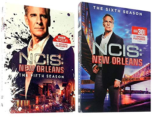 NCIS New Orleans Season 5 and 6 DVD