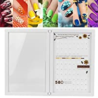 Nail Color Card Book, Conveneince Nail Tip Display Book for Women for Nail