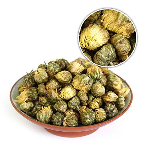 GOARTEA 500g (17.6 Oz Premium Golden Fetal Chrysanthemum Buds Flower Floral Dried Herbal Natural Health Chinese Tea